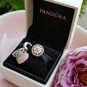 Set of two Pandora charms